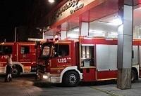 ۱۲ هزار تماس تلفنی با آتشنشانی تهران در چهارشنبه آخر سال!