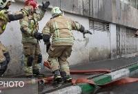 مهار آتشسوزی در نمایشگاه بهاره تهرانسر