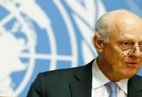 دیمیستورا: برای اجرای آتش بس در غوطه تلاش میکنیم