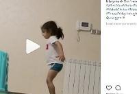 تصویر پسر ورزشکار ایرانی در اینستاگرام بازیگر زن آمریکایی | عکس