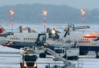 لغو بیش از ۱۲۰ پرواز در فرودگاههای لندن
