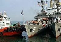 پنجاهمین ناو گروه نیروی دریایی ارتش به کشور بازگشت
