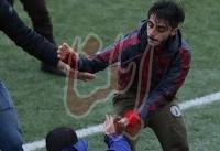 ضرب و شتم داور لیگ برتری در گیلان (+عکس)