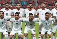 ترکیب تیم ملی فوتبال اعلام شد