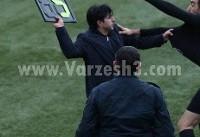 ضرب و شتم داور لیگ برتری در یک دیدار محلی +عکس