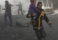 هزاران نفر از ساکنان غوطه شرقی مناطق جنگ زده را ترک کردند