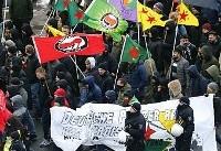 «نوروز یعنی مقاومت» شعار معترضان کرد در آلمان