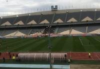 حمایت ۲۰۰۰ هوادار از تیم ملی فوتبال/ حضور چند سیرالئونی در