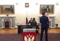 اتباع روس مقیم ایران در انتخابات ریاست جمهوری روسیه شرکت کردند +عکس