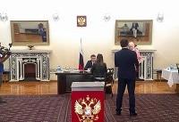 اتباع روس مقیم ایران در انتخابات ریاست جمهوری روسیه شرکت کردند (+عکس)