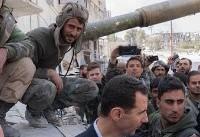 بشار اسد از غوطه شرقی دیدار کرد