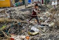 (تصاویر) زندگی میان زباله در سرپل ذهاب