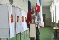 The Latest: Russian presidential vote kicks off in Far East