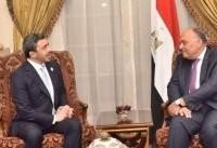 وزرای خارجه مصر و امارات، ایران را به دخالت در امور سوریه متهم کردند