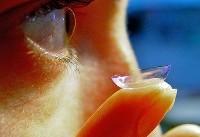 لنزی که دارو را مستقیما به چشم میرساند