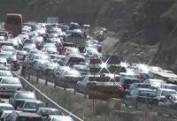 ترافیک جاده شمال همچنان نیمه سنگین