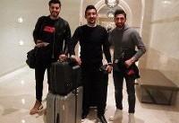 حضور جهانبخش، قوچان نژاد و عزت اللهی در اردوی تیم ملی