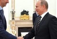 بشار اسد پیروزی پوتین در انتخابات روسیه را تبریک گفت