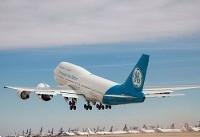 تجربه جدید پرواز با بزرگترین موتورجت جهان (+عکس)