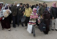 تروریستهای ترکیه ۲۰۰ هزار نفر  از مردم عفرین را آواره کردند