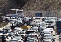 محور کرج _چالوس امروز یکطرفه نمیشود/ تداوم ترافیک سنگین درمحورهای مواصلاتی