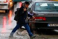 باران معابر تهران را قفل کرد/ جریمه ۳۰ هزار تومانی برای نقص فنی برف پاککن