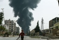 Rebel rocket fire kills 35 in Damascus suburb