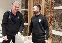 با آزمون و قدوس تیم ملی در تونس تکمیل شد