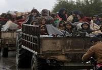 مهاجرت ۲۷۰۰ شهروند عفرین به منبج فقط در یک شب
