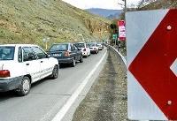 ترافیک نیمه سنگین در جادههای منتهی به شمال کشور/ اعمال محدودیت ترافیکی در جاده های شمالی