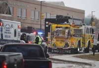 Two hurt, shooter dead at Maryland high school: sheriff