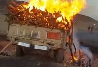 تصاویر العالم از تازه ترین جنایت سعودی ها در یمن