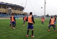 ادامه تمرینات جدی تیم ملی در تونس