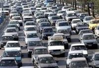 ترافیک سنگین در محورهای شمالی/ دو پیک ترافیکی در نوروز