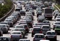 ترافیک نیمه سنگین در محورهای چالوس و هراز