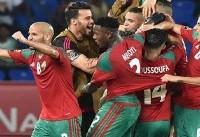 مربی تیم ملی بازی مراکش را از نزدیک بررسی میکند