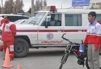 تیم های سحاب هلال احمر خدمات بشردوستانه و امدادی ارائه می دهند