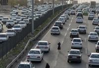 وضعیت ترافیک عصرگاهی جاده های کشور/ بارندگی در برخی محورها