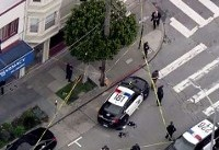 Shootout wounds 1 officer, 5 others in San Francisco