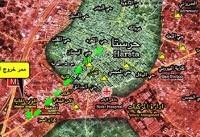 آغاز ورود اتوبوس های هلال احمر سوریه به داخل شهر حرستا / خروج بیش از ۷ هزار فرد مسلح و خانواده ...