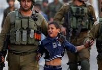 نظامیان صهیونیستی ۵۶۲ کودک فلسطینی را دستگیر کرده اند