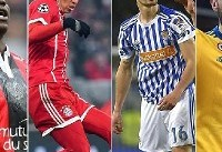 ستارههایی که در پایان فصل فوتبالیست آزاد هستند