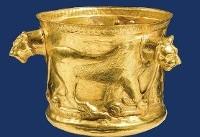هفت سین طلایی در موزه ملی ایران / طلایی های ارزشمند به نمایش در آمد + تصاویر