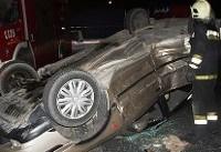 سال جدید و دومین تصادف منجر به فوت در تهران/۲ نفر فوت کردند