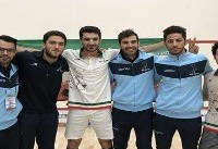 صعود اسکواشبازان ایرانی به نیمه نهایی قهرمانی آسیا