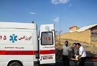 انتقال ۱۳۰۹ نفر از مصدومین حوادث ترافیکی به بیمارستانها توسط اورژانس
