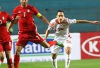 تساوی ایران و تونس در نیمه نخست/ داور پنالتی ایران را ندید