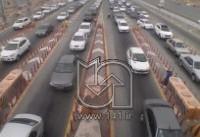وضعیت راه های کشور در سومین روز سال/ترافیک سنگین در مسیر شهرهای شمالی/چالوس یکطرفه میشود