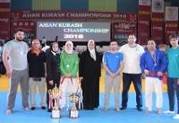 نایب قهرمانی کوراش ایران در آسیا