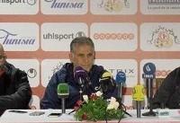 کیروش: بازی با تونس برای بازکنان لیگ داخلی ما تجربه خوبی بود